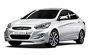 Hyundai Accent IV (Solaris) sedan (2011-2017)