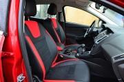 Фото 4 - Чехлы MW Brothers Ford Focus III (2011-2014), красные вставки + красная нить