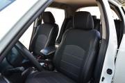 Фото 2 - Чехлы MW Brothers Nissan Juke (2011-н.д.), серая нить