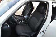 Фото 3 - Чехлы MW Brothers Nissan Juke (2011-н.д.), серая нить