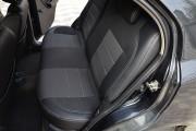 Фото 5 - Чехлы MW Brothers Chevrolet Aveo T250 sedan (2002-2016), полностью темные+серая нить