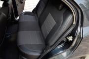 Фото 5 - Чехлы MW Brothers Chevrolet Aveo T200 sedan (2002-2008), полностью темные+серая нить