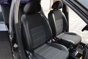 Фото 7 - Чехлы MW Brothers ZAZ Vida sedan (2012-н.д.), полностью темные+серая нить