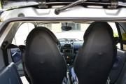 Фото 4 - Чехлы MW Brothers Mercedes-Benz Smart Fortwo I (450) (1998-2007), синие вставки + синяя нить