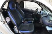 Фото 5 - Чехлы MW Brothers Mercedes-Benz Smart Fortwo I (450) (1998-2007), синие вставки + синяя нить