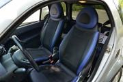 Фото 8 - Чехлы MW Brothers Mercedes-Benz Smart Fortwo I (450) (1998-2007), синие вставки + синяя нить