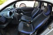 """'ото 3 - """"ехлы MW Brothers Mercedes-Benz Smart Fortwo II (451) (2007-2014), синие вставки + син¤¤ нить"""