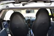 """'ото 4 - """"ехлы MW Brothers Mercedes-Benz Smart Fortwo II (451) (2007-2014), синие вставки + син¤¤ нить"""