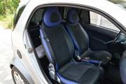 """'ото 6 - """"ехлы MW Brothers Mercedes-Benz Smart Fortwo II (451) (2007-2014), синие вставки + син¤¤ нить"""