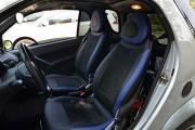 """'ото 8 - """"ехлы MW Brothers Mercedes-Benz Smart Fortwo II (451) (2007-2014), синие вставки + син¤¤ нить"""