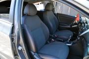 Фото 6 - Чехлы MW Brothers KIA Rio III Hatchback (2011-2017), красная нить