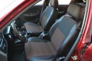Фото 2 - Чехлы MW Brothers Chevrolet Lanos (2005-н.д.), красная нить