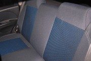 Фото 2 - Чехлы MW Brothers Chevrolet Aveo 5D (2002-2012), синяя нить