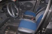 Фото 3 - Чехлы MW Brothers Chevrolet Aveo 5D (2002-2012), синяя нить