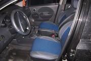 Фото 4 - Чехлы MW Brothers Chevrolet Aveo 5D (2002-2012), синяя нить