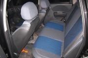 Фото 5 - Чехлы MW Brothers Chevrolet Aveo 5D (2002-2012), синяя нить