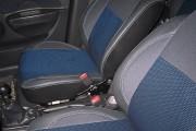 Фото 6 - Чехлы MW Brothers Chevrolet Aveo 5D (2002-2012), синяя нить