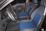 Фото 8 - Чехлы MW Brothers Chevrolet Aveo 5D (2002-2012), синяя нить