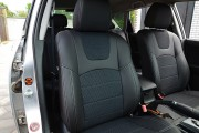 Фото 6 - Чехлы MW Brothers Mazda 3 I (2003-2009), серая нить