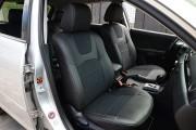 Фото 7 - Чехлы MW Brothers Mazda 3 I (2003-2009), серая нить