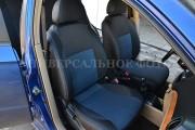 Фото 5 - Чехлы MW Brothers Dacia Logan  I (2005-2015), синяя нить