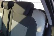 Фото 6 - Чехлы MW Brothers KIA Sportage II (2004-2010), светлые вставки + серая нить