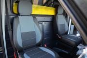Фото 3 - Чехлы MW Brothers Volkswagen LT35 Casten (1996-2006) грузовой (1+1), серая нить