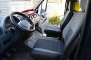 Фото 8 - Чехлы MW Brothers Volkswagen LT35 Casten (1996-2006) грузовой (1+1), серая нить