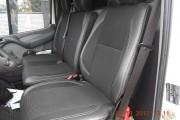 Фото 2 - Чехлы MW Brothers Volkswagen LT35 Casten (1996-2006) грузовой (1+2), серая нить
