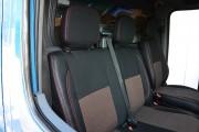 Фото 2 - Чехлы MW Brothers Volkswagen LT35 Casten (1996-2006) грузовой (1+2), красная нить