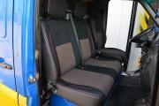 Фото 3 - Чехлы MW Brothers Volkswagen LT35 Casten (1996-2006) грузовой (1+2), красная нить