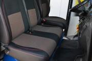 Фото 4 - Чехлы MW Brothers Volkswagen LT35 Casten (1996-2006) грузовой (1+2), красная нить