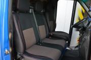 Фото 5 - Чехлы MW Brothers Volkswagen LT35 Casten (1996-2006) грузовой (1+2), красная нить