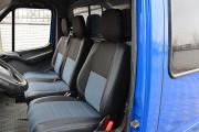 Фото 2 - Чехлы MW Brothers Volkswagen LT35 Casten (1996-2006) грузовой (1+2), синяя нить