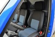 Фото 3 - Чехлы MW Brothers Volkswagen LT35 Casten (1996-2006) грузовой (1+2), синяя нить