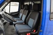 Фото 4 - Чехлы MW Brothers Volkswagen LT35 Casten (1996-2006) грузовой (1+2), синяя нить