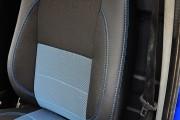 Фото 5 - Чехлы MW Brothers Volkswagen LT35 Casten (1996-2006) грузовой (1+2), синяя нить