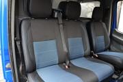 Фото 7 - Чехлы MW Brothers Volkswagen LT35 Casten (1996-2006) грузовой (1+2), синяя нить