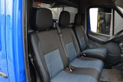 Фото 8 - Чехлы MW Brothers Volkswagen LT35 Casten (1996-2006) грузовой (1+2), синяя нить