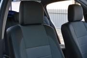 """'ото 4 - """"ехлы MW Brothers Renault Megane II (2002-2009), сера¤ нить"""