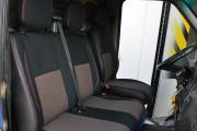Фото 5 - Чехлы MW Brothers Mercedes-Benz Sprinter (1+2) грузовой (1995-2006), красная нить