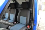 Фото 3 - Чехлы MW Brothers Mercedes-Benz Sprinter (1+2) грузовой (1995-2006), синяя нить