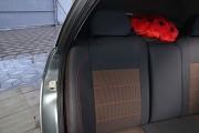 Фото 5 - Чехлы MW Brothers Lada Priora 2170 (ВАЗ-2170) (2007-н.д.), красная нить