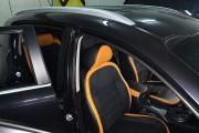 Фото 4 - Чехлы MW Brothers KIA Sportage III (2010-2015), оранж вставки + оранж нить