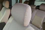 Фото 7 - Чехлы MW Brothers Toyota Land Cruiser Prado 120 (2002-2009), бежевые + бежевая нить