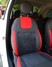 MW Brothers Fiat 500 (2007-н.д.),  полностью графитовые+красные вставки