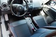 Фото 2 - Чехлы MW Brothers Suzuki SX4 I (2006-2014), красная нить