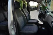 Фото 4 - Чехлы MW Brothers Renault Dokker Van (1+1) (рестайлинг) (2016-н.д.), серая нить