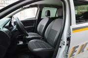 Фото 4 - Чехлы MW Brothers Renault Logan II MCV (2012-2014), серая нить