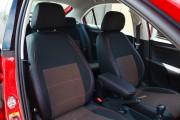 Фото 3 - Чехлы MW Brothers Seat Toledo Mk4 (2013-н.д), красная нить